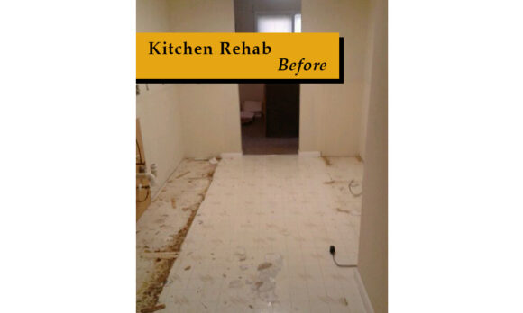 3. Kitchen Rehab Before